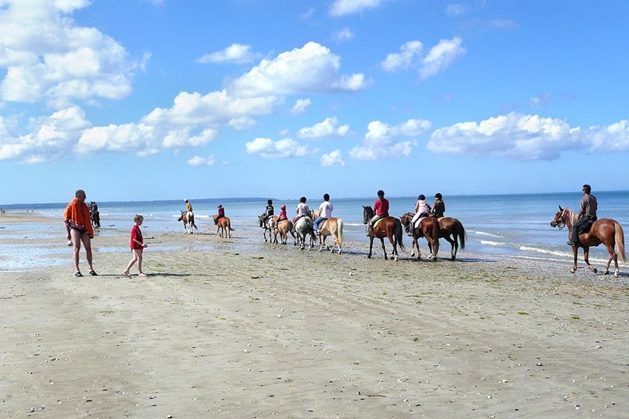 équitation vacances normandie