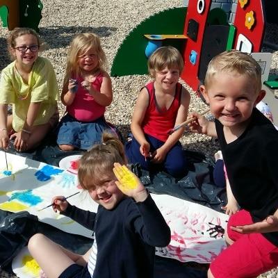 En vacances avec les enfants