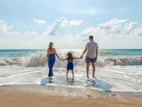Vacances au bord de mer