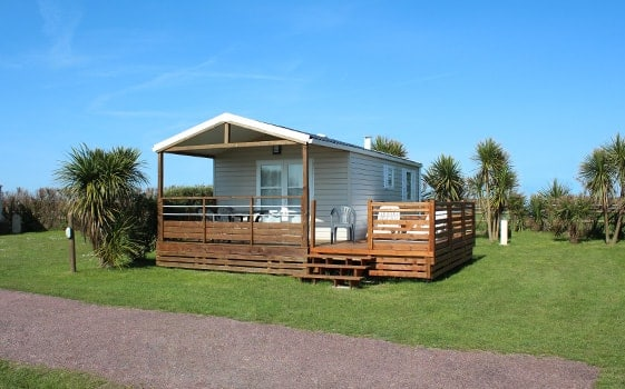 Camping nature normandie