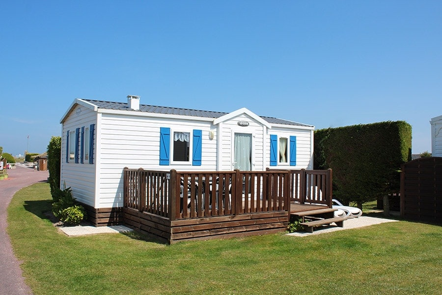 cheap rental mobile home normandy