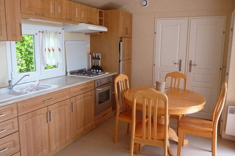 Kitchen mobile home Elite 3 bedrooms