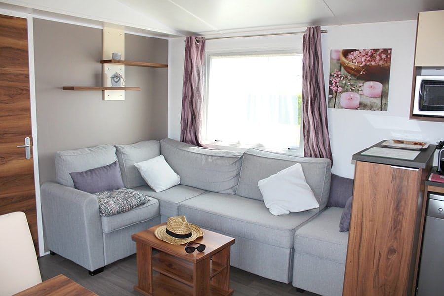 rental mobile home Cotentin