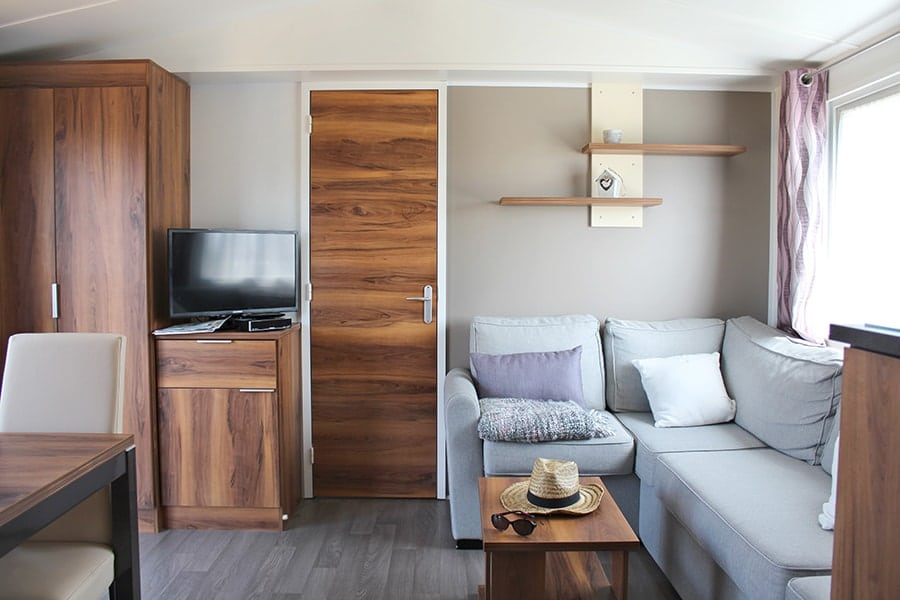 mobile home stay in Cotentin
