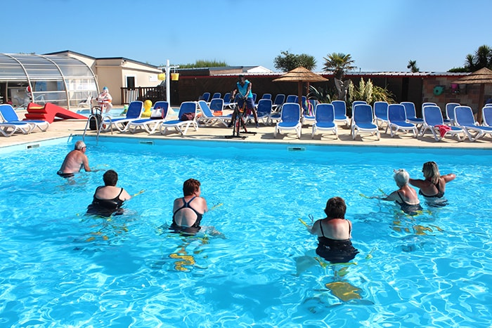 camping animation piscine normandie