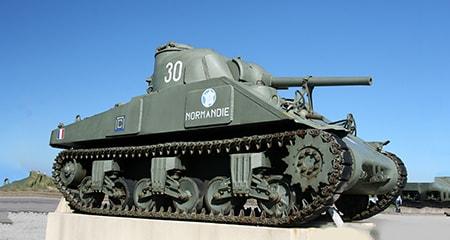 Wereldoorlog II tank