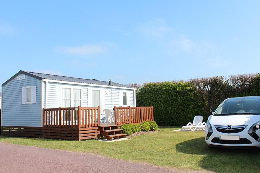 Vermietung von Ferienhäusern Camping Normandie