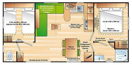 cottage map 2 bedrooms