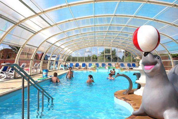 Camping 5 toiles normandie parc aquatique le cormoran - Camping normandie avec piscine couverte ...
