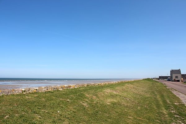 Camping ingang Le Cormoran Normandie