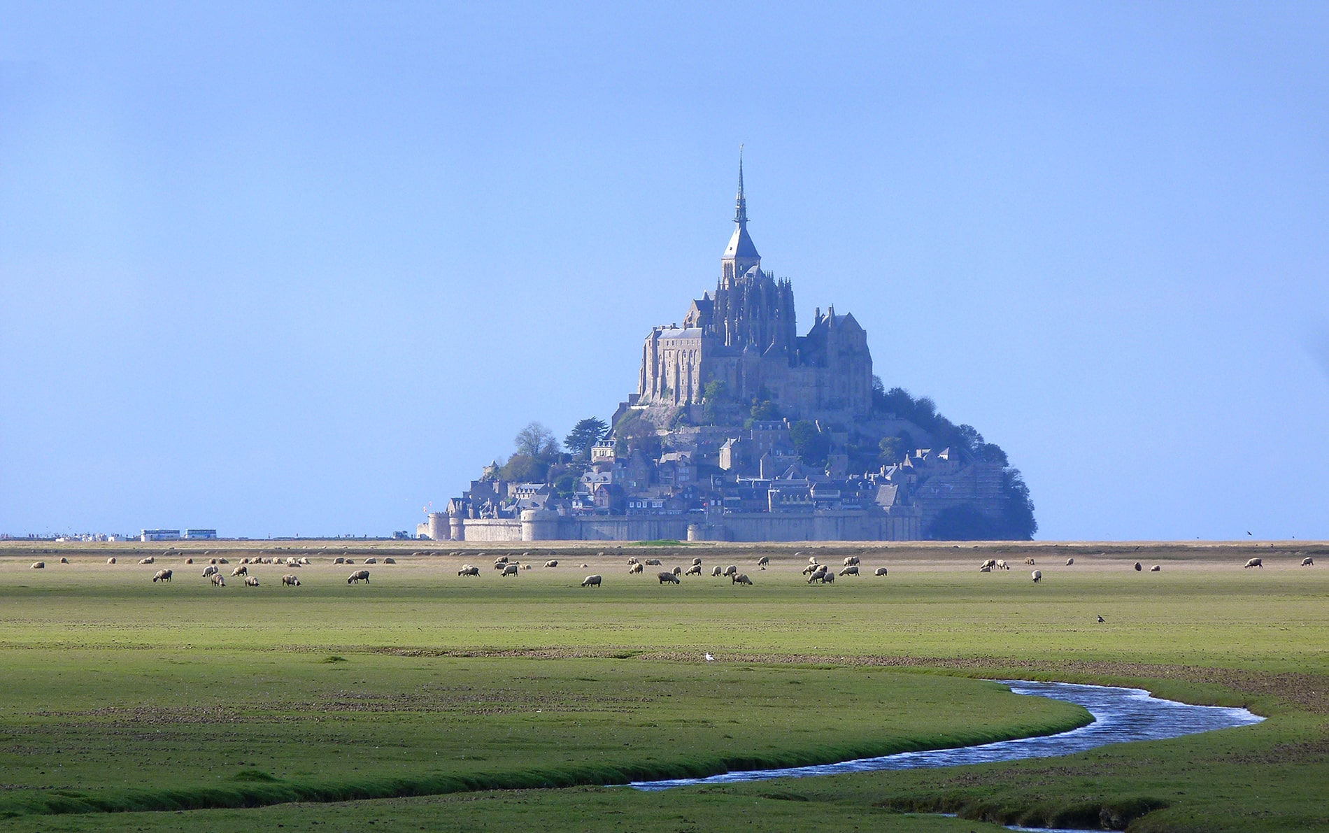 pitches near le Mont Saint Michel