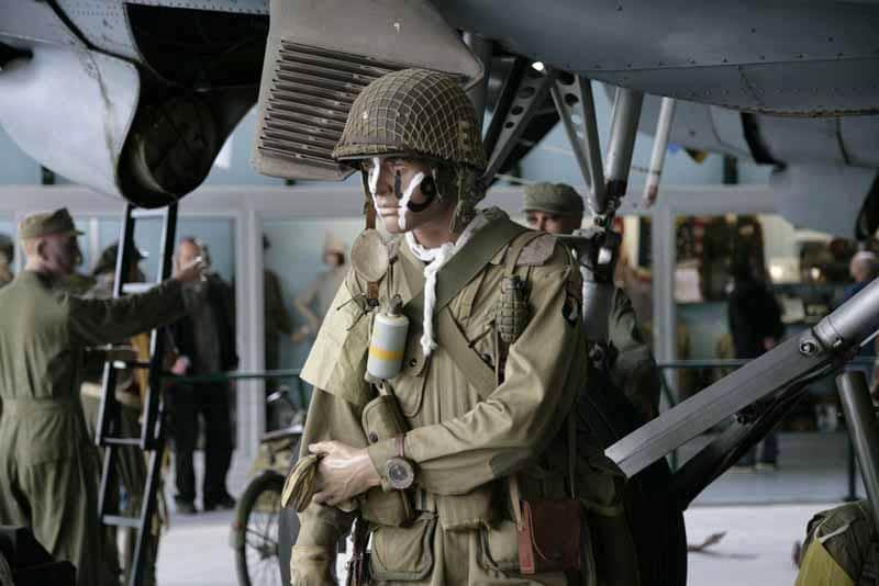 Normandië Landende soldaat