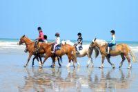 camping normandie avec équitation