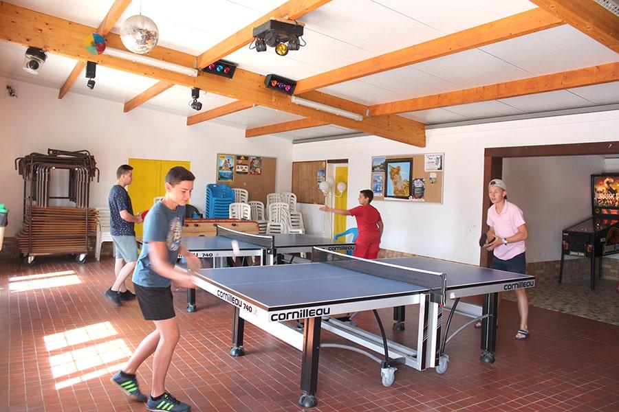 camping normandie avec salle de jeux