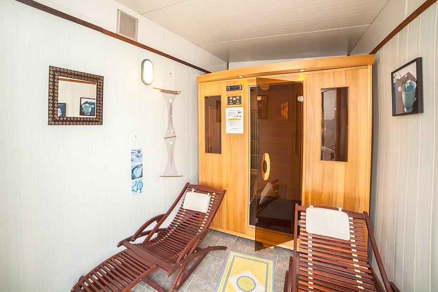 camping normandie avec sauna