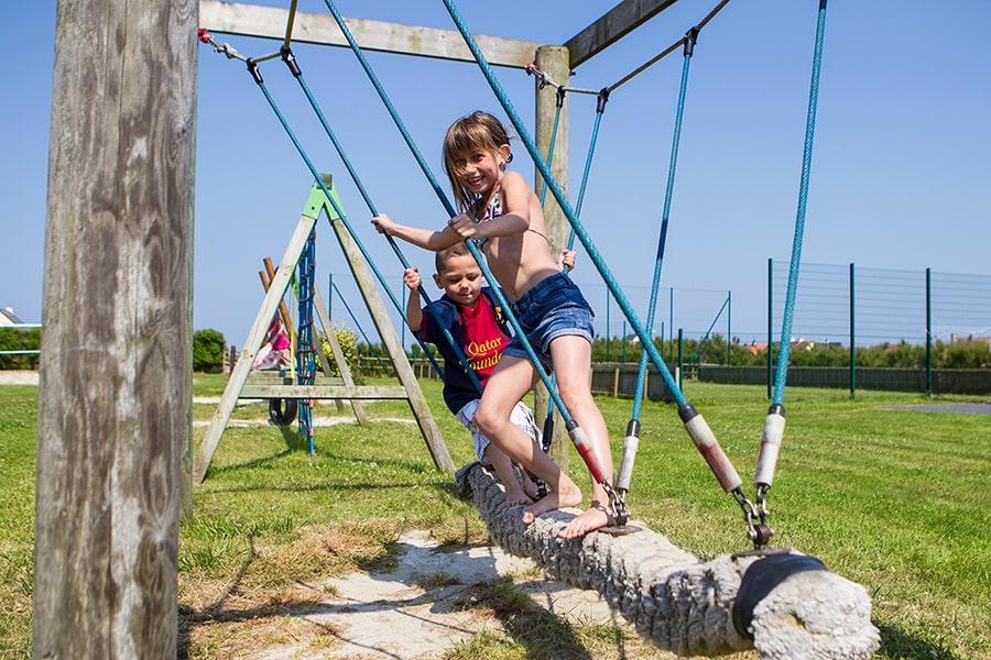 camping normandie jeux pour enfants