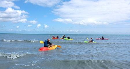 camping normandie kayak