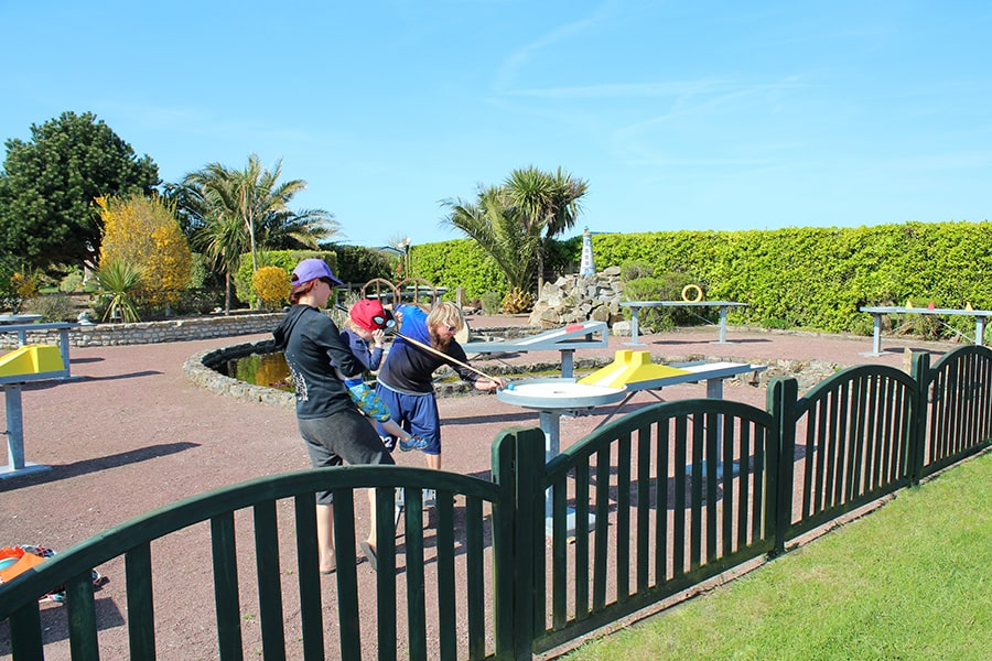 camping normandie mini golf