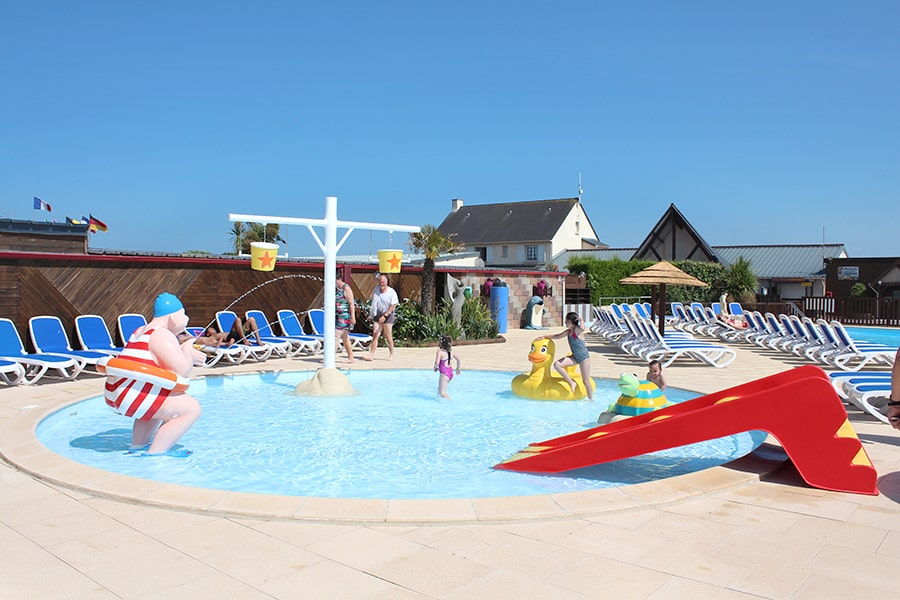 camping normandie piscine pataugeoire
