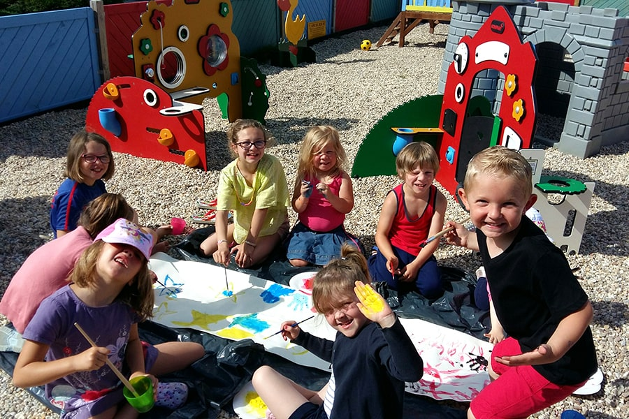 club enfant camping normandie