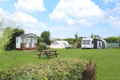 emplacement camping sanitaire individuel