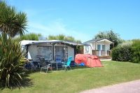 emplacement camping sanitaire privé normandie