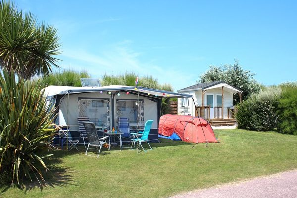 emplacement camping sanitaire privé normandie