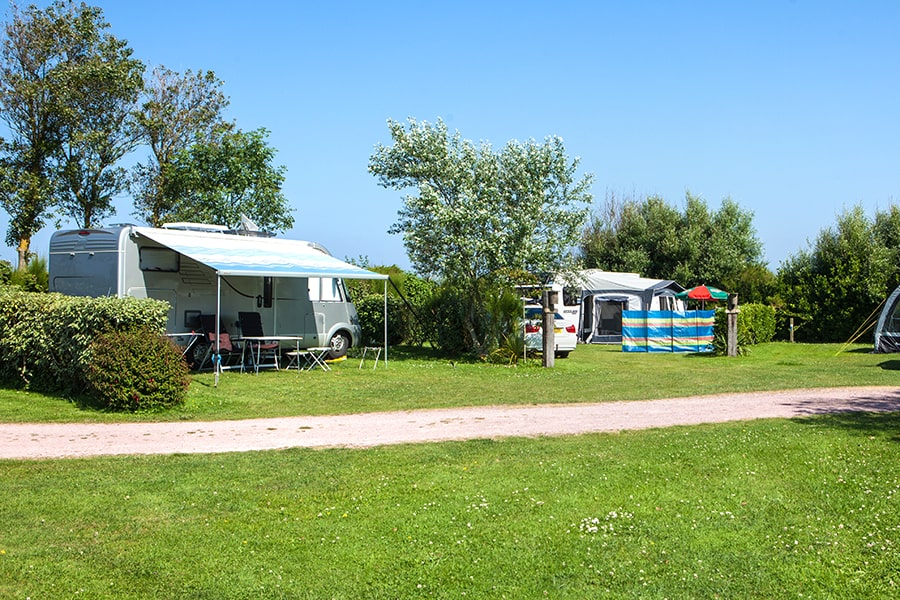 emplacement camping spacieux normandie