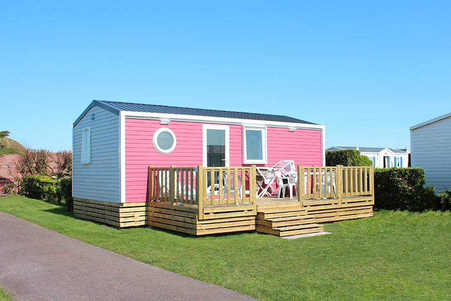 location mobil home cotentin