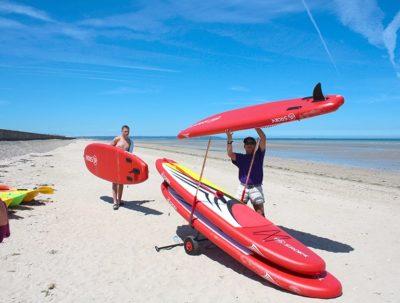 camping normandie bord de mer activité nautique