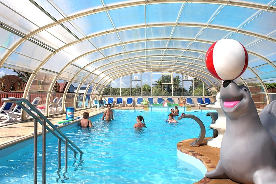 camping basse normandie piscine couverte