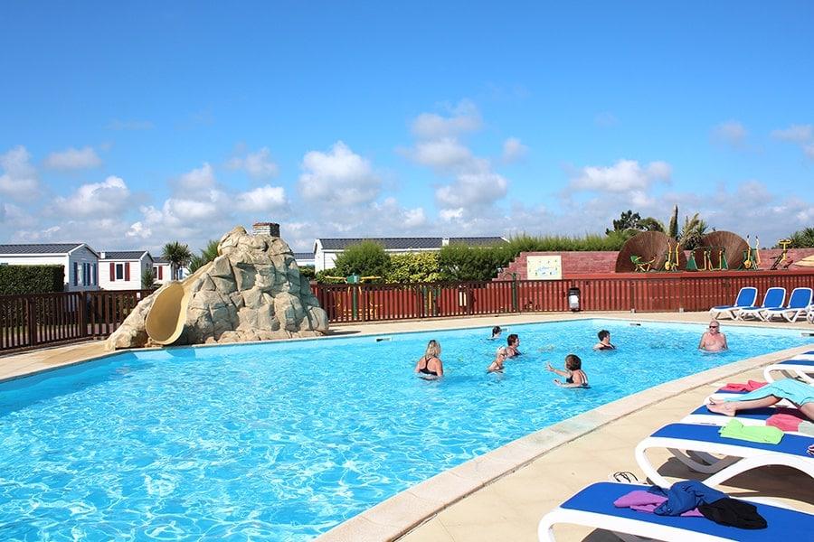 camping cotentin piscine chauffée