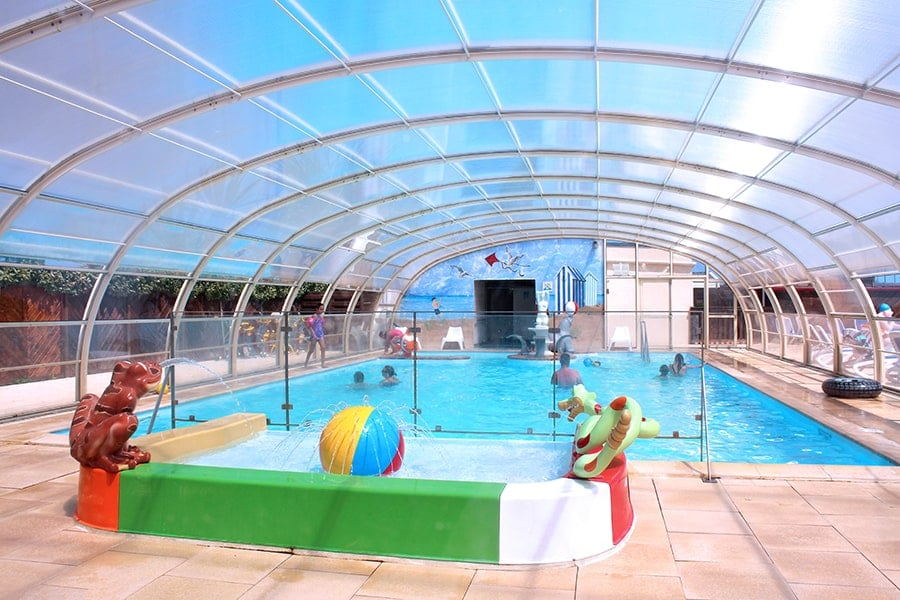 camping normandie piscine couverte
