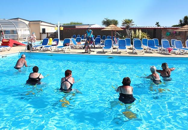 campsite sport swimming-pool