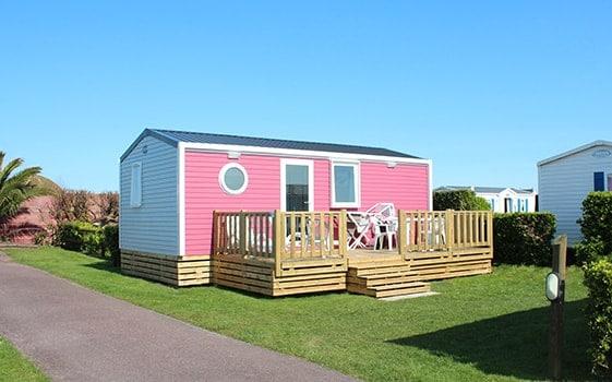 mobile home rental cherbourg campsite le cormoran. Black Bedroom Furniture Sets. Home Design Ideas