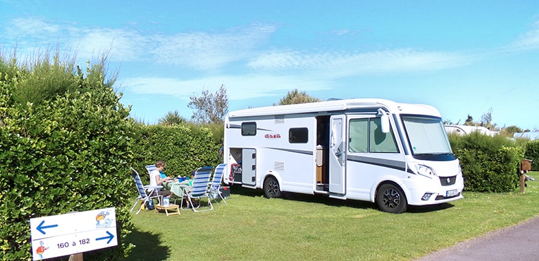 stay motorhome Normandy