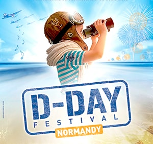 D-Day festival en Normandie
