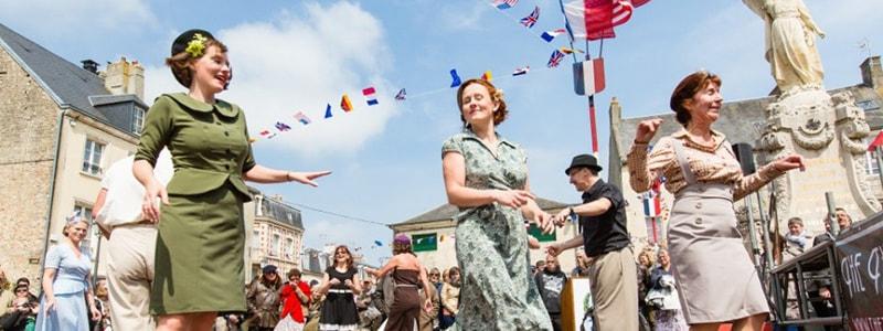 D-Day festival festivités