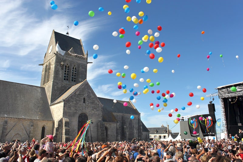 Feesten dday Sainte-mère-église 2014