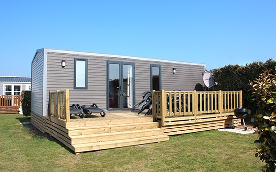 Location luxe camping Normandie