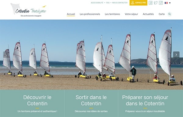 Site Cotentin Tourisme