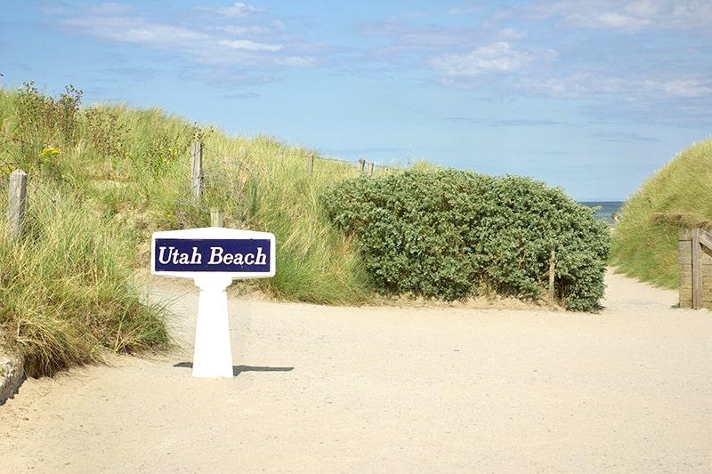 Utah Beach plage