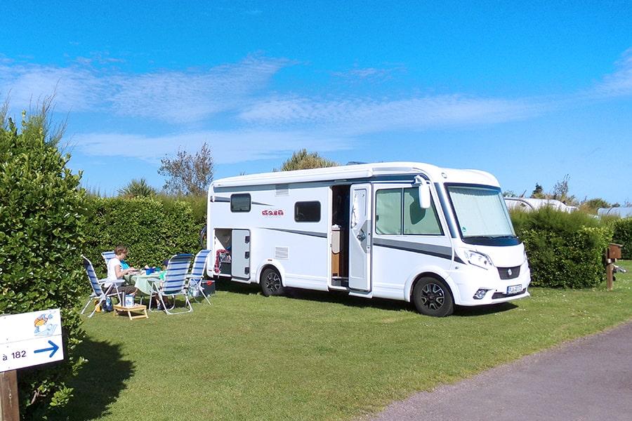 plages du débarquement en camping car