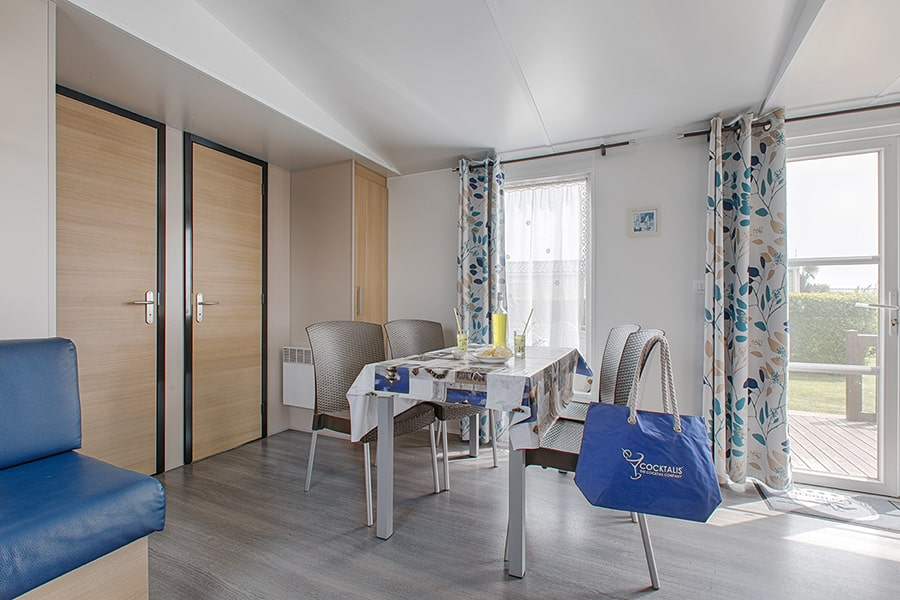 cottage 2 chambres intérieur