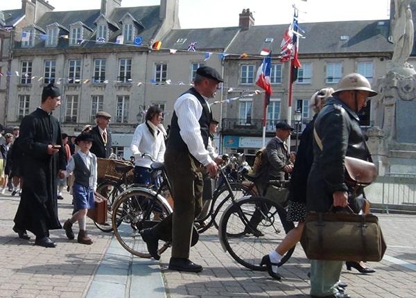 parade uittocht fiets dday