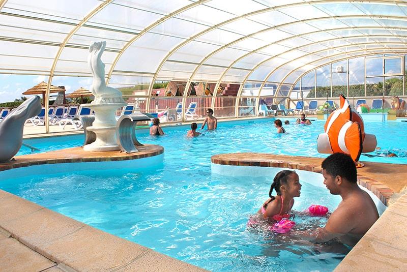 Camping normandie piscine couverte le cormoran 5 toiles - Camping gerardmer piscine couverte ...