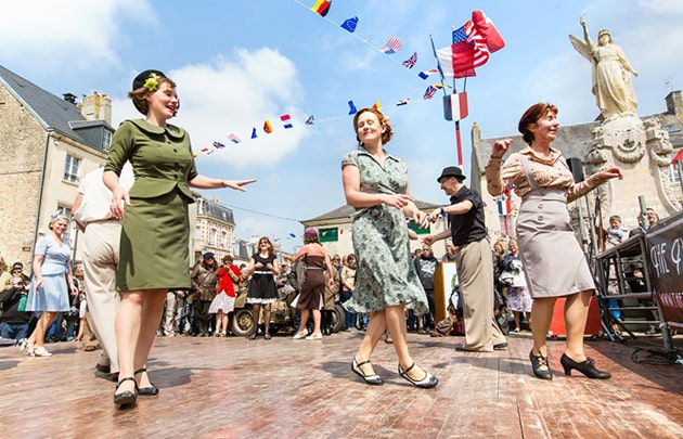 dday Festival in der Normandie