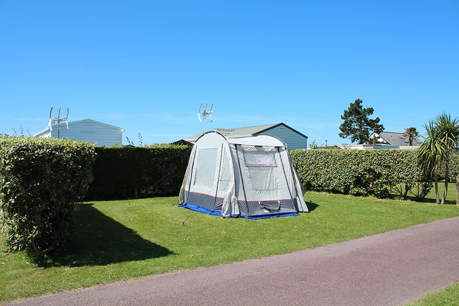 Cheap tent pitch Normandy