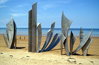 plage omaha beach normandie