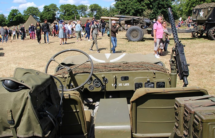 reconstitution camp militaire dday